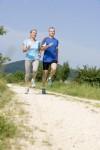 paar-joggend